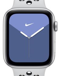 Nike Apple Watch Series 5 (gps + Cellular) With Sport Band 44mm Silver Aluminium Case - Metallic