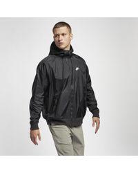 Nike Sportswear Windrunner Windbreaker mit Kapuze - Schwarz