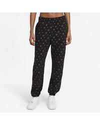 Nike Sportswear Printed Trousers Black