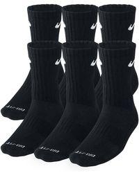 Nike - Dri-fit Cushion Crew Training Socks (large/6 Pair) - Lyst