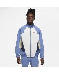 Nike - Veste Polyknit Sportswear Heritage Windrunner pour - Lyst