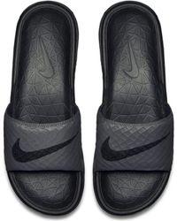 Nike Slider Benassi Solarsoft 2 - Rosso