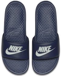 Nike Ciabatta Benassi JDI - Blu