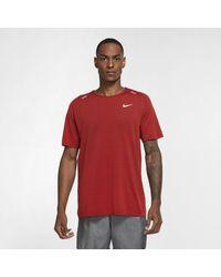 Nike Maglia da running TechKnit Ultra - Rosso