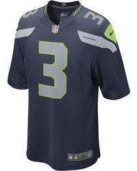 Nike NFL Seattle Seahawks (Russell Wilson) American Football -Heimtrikot - Blau