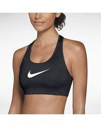 Nike Victory Shape High-support Sports Bra - Black