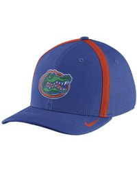 Nike - College Aerobill Swoosh Flex (florida) Fitted Hat - Lyst