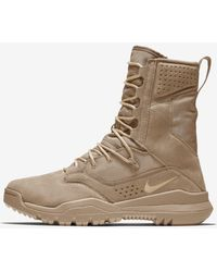 """Nike Sfb Field 2 8"""" Tactical Boot - Brown"""
