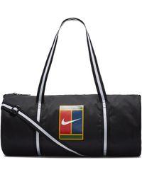 Nike Court Heritage Tennis Duffel Bag - Black