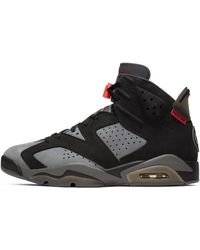 Nike Air Jordan 6 Retro Paris Saint-germain Shoe - Gray
