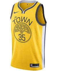 Nike - Maillot connecté NBA Kevin Durant Earned City Edition Swingman (Golden State Warriors) pour Homme - Lyst
