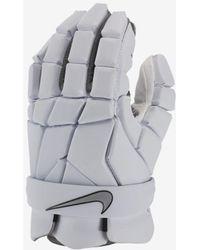 Nike Vapor Lacrosse Gloves - Gray