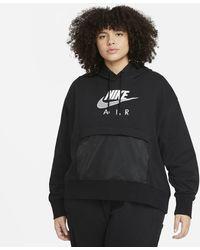 Nike - Air Hoodie Black - Lyst