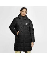 Nike Sportswear Synthetic-fill Parka Black