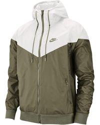 Nike Sportswear Windrunner Hooded Windbreaker - Green