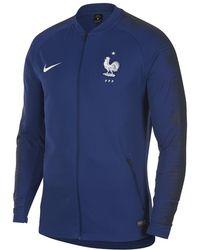 f02e15209bc Lyst - Nike Club America Franchise Men's Soccer Jacket in Blue for Men