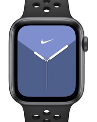 Nike Apple Watch Series 5 (gps) With Sport Band 40mm Space Grey Aluminium Case - Black