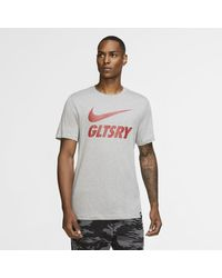 Nike - Galatasaray Football T-shirt Grey - Lyst