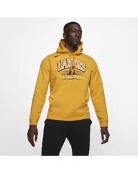 339d2f37 Nike Los Angeles Lakers Therma Flex Showtime Nba Hoodie in Purple ...
