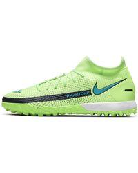 Nike Phantom Gt Academy Dynamic Fit Tf Artificial-turf Football Shoe Green