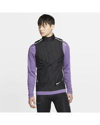 Nike Aeroloft Running Vest - Black