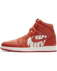 Nike Chaussure Air Jordan 1 Retro High OG - Rouge