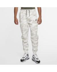 Nike Tech Fleece -Jogger mit Camo-Print - Weiß