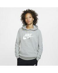 Nike - Sportswear Essential Fleece-Hoodie für - Lyst