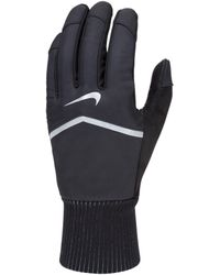Nike Gants de running Shield pour - Noir