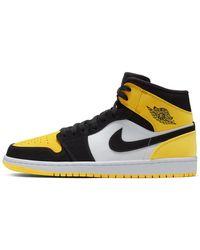 Nike Chaussure Air Jordan 1 Mid SE pour - Noir