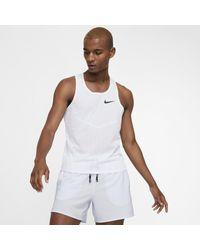 Nike Canottiera da running AeroSwift - Bianco
