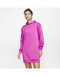 Nike Robeà capuche Air pour - Rose