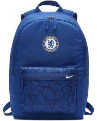 Nike Chelsea FC Stadium Fußballrucksack - Blau