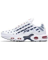 online store 821ea 86c6b Air Max Plus Tn Unité Totale Shoe - White