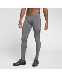 dc33611007d3 Lyst - Nike Dri-fit Thermal Men s Running Pants in Black for Men