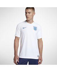 Nike Maglia da calcio 2018 England Stadium Home - Bianco
