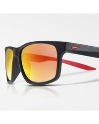 Nike Occhiali da sole Essential Chaser Mirrored - Nero