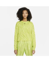 Nike Sportswear Icon Clash Crew - Yellow