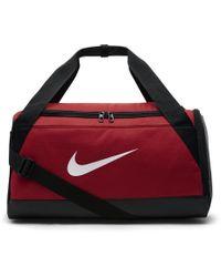 Nike - Brasilia (small) Training Duffel Bag (red) - Lyst