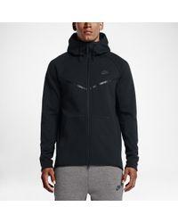 ac31114277a67 Nike - Sportswear Tech Fleece Windrunner Men s Hoodie - Lyst