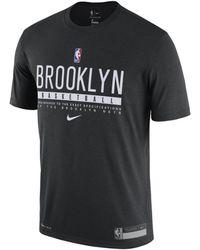 Nike - T-shirt Nets Practice Dri-FIT NBA - Lyst