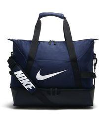 Nike Academy Team Fußball-Hartschalentasche (Medium) - Blau