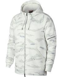 9ee3cac29d4425 Nike - Jordan Sportswear Flight Tech Camo Full-zip Hoodie - Lyst