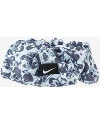 Nike Printed Scrunchie - Blue