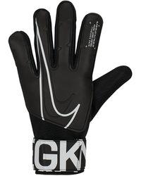 Nike Goalkeeper Match Football Gloves - Black