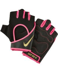 Nike - Perforated Wrap Women's Training Gloves - Lyst