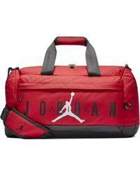 Nike Borsone Jordan Jumpman Air - Rosso