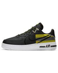 Nike Air Force 1 React Lx Herenschoen - Zwart