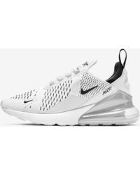 Nike Air Max 270 Running Shoes - White