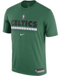Nike Celtics Practice Dri-FIT NBA-T-Shirt - Grün